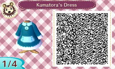 Kumatora's Dress by StarmanPhantom