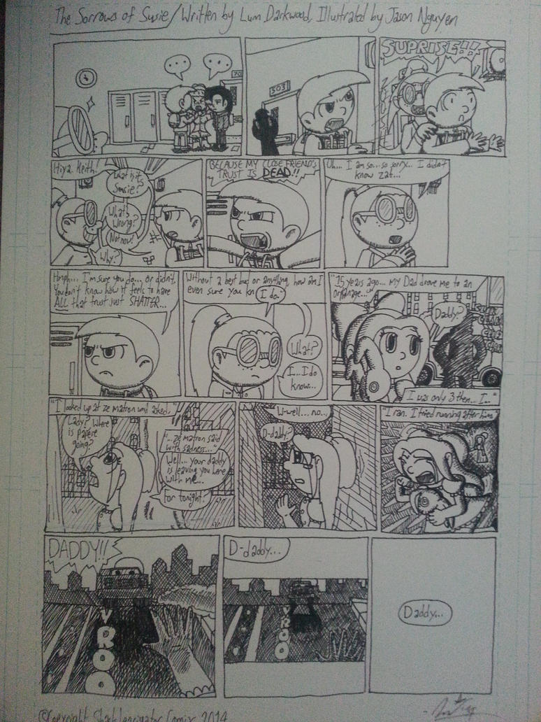 FRIDAY MORN COMIX - 'The Sorrows of Susie' by StarmanPhantom