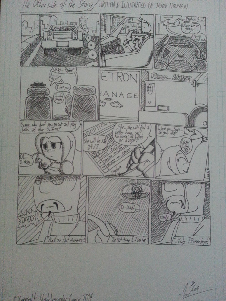 FRIDAY MORN COMIX- 'The Otherside of the Story' by StarmanPhantom