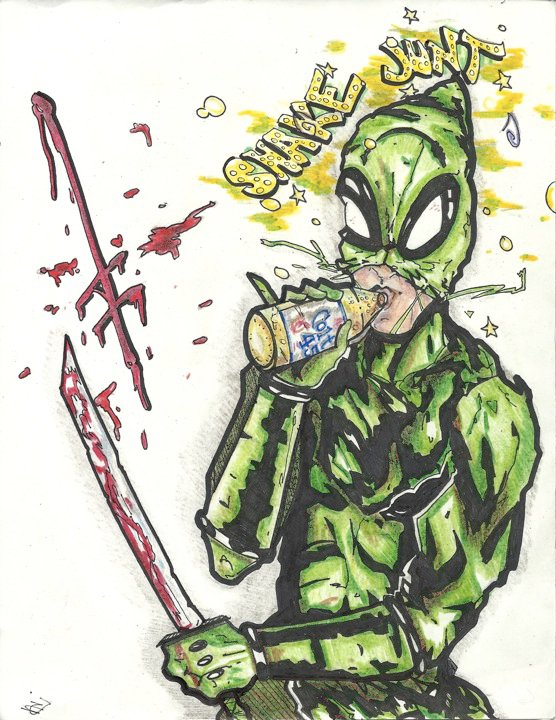 DEATHWISH-Shake Junt--Ninja by kubadive