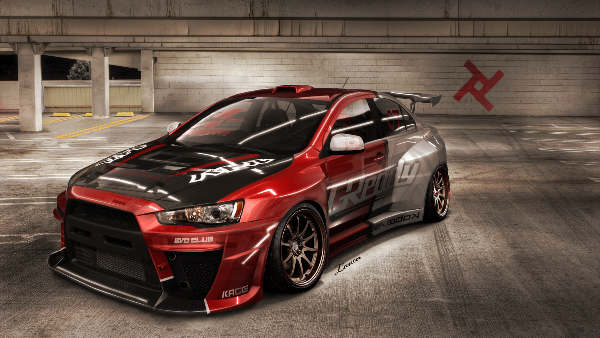 lancer evolution x nfsps realmode by lancerkage