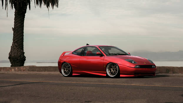 Fiat Coupe Red