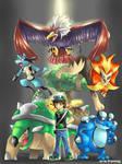 Commission : Pokemon team