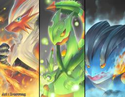 Pokemon : Mega Hoenn by R-nowong