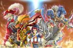 Buddyfight Dragon world!!