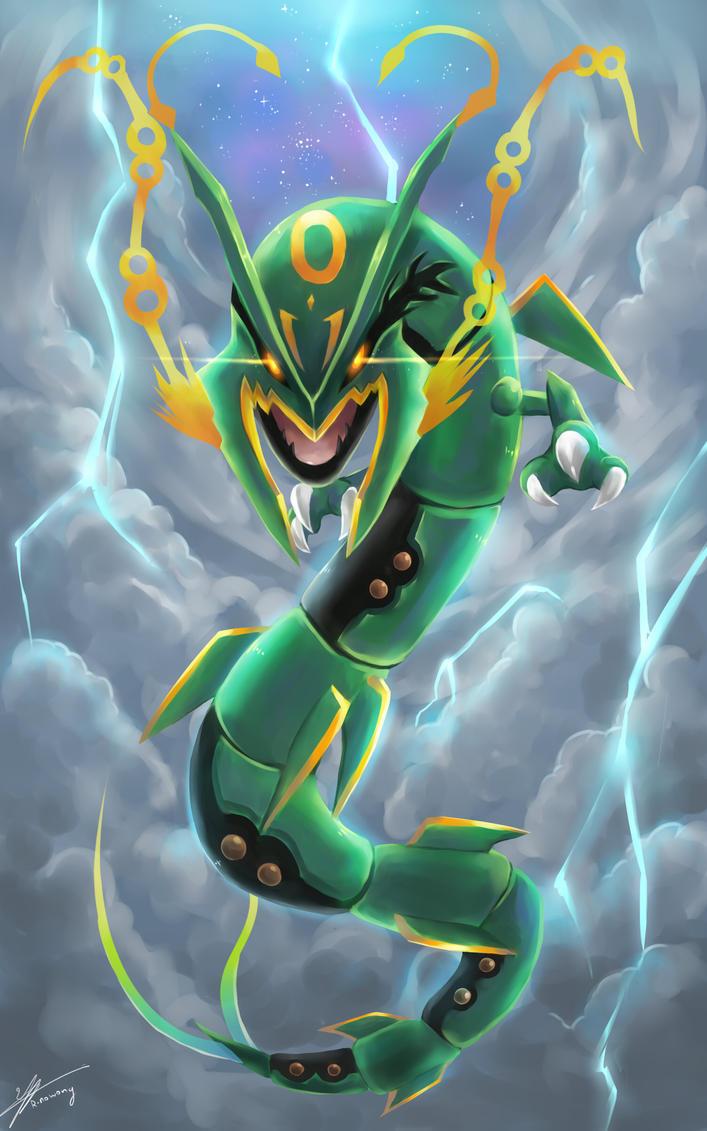 Mega rayquaza bing images - Mega evoltion ...