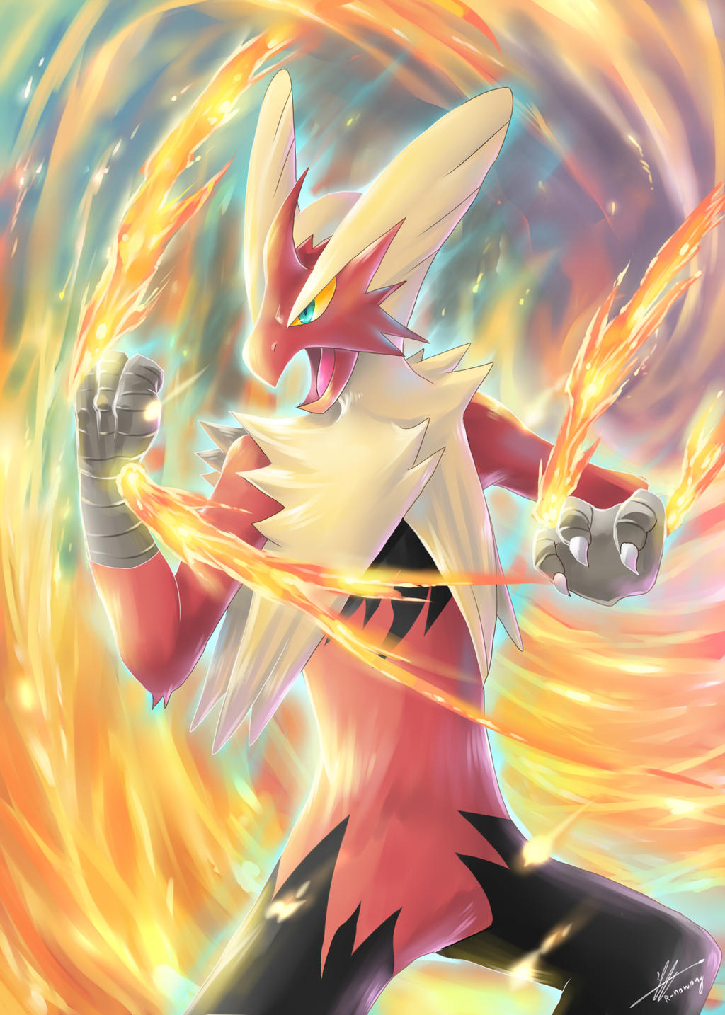 pokemon fire r