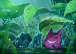 Pokemon : Rainy season Gengar