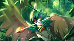 Sniping Decidueye by R-nowong