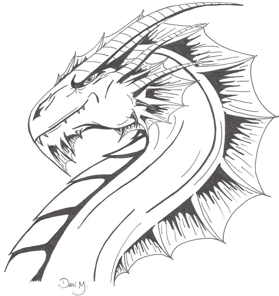 Dragon Head 2 by Tiramora on DeviantArt