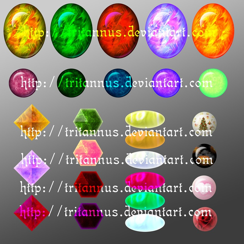 magical gems downloadable stock by tritannus on deviantart