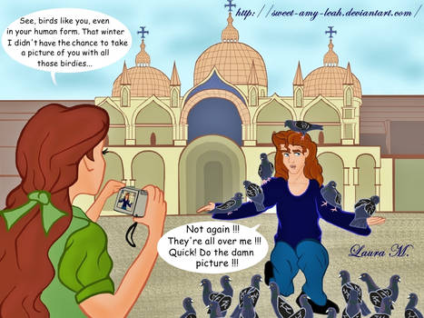 Disney Tourists - Italy by Sweet-Amy-Leah