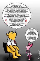 Pooh's Mad World by KorianderBullard