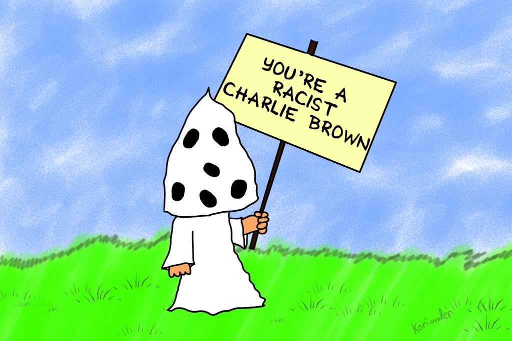 You're a Racist, Charlie Brown by KorianderBullard