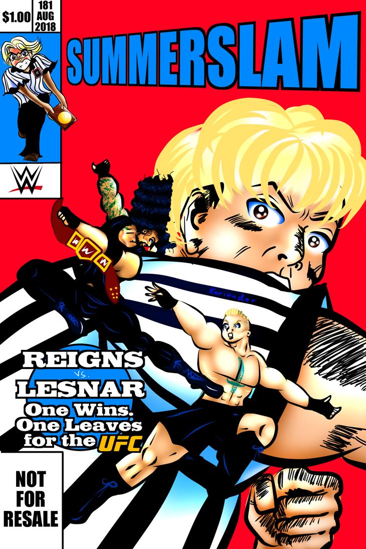 SummerSlam Comic by KorianderBullard