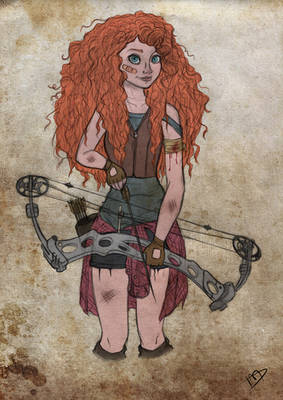 The Walking Disney/Pixar : Merida
