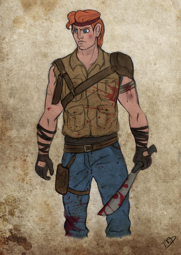 The Walking Disney : Herc by Kasami-Sensei