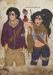 The Walking Disney : Aladin, Jasmine and Abu