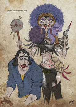 The Walking Disney : Yzma and Kronk