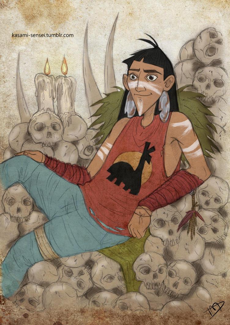 The Walking Disney : Kuzco by Kasami-Sensei