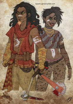 The Walking Disney : Scar and Shenzi