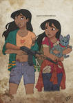 The Walking Disney : Nani, Lilo and Stitch