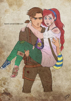 The Walking Disney : Jim and Ariel
