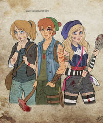 The Walking Disney : Peter, Wendy and Alice by Kasami-Sensei