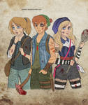The Walking Disney : Peter, Wendy and Alice