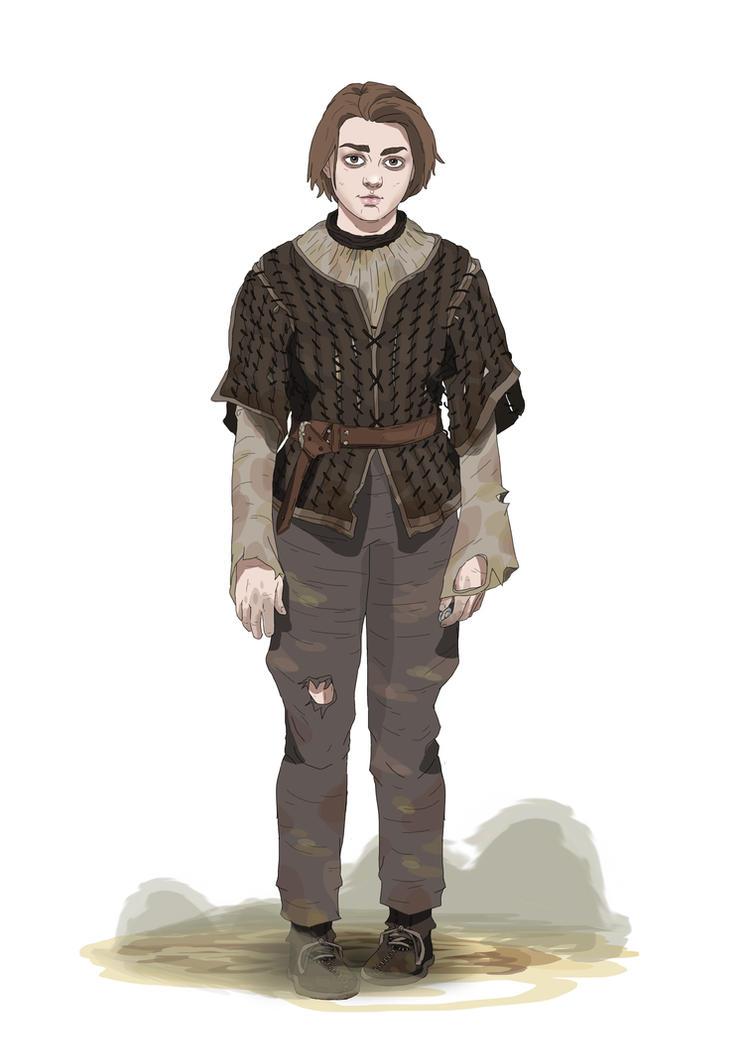 Arya Stark by Kasami-Sensei