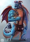 Spyro the dragon ( Gavin )