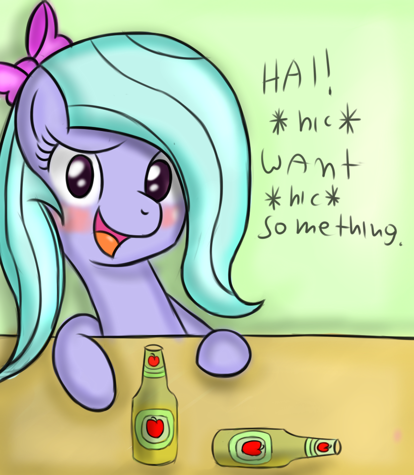 *Hic* Want *hic* something? by FreeFraQ