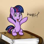 Twilight want hug!