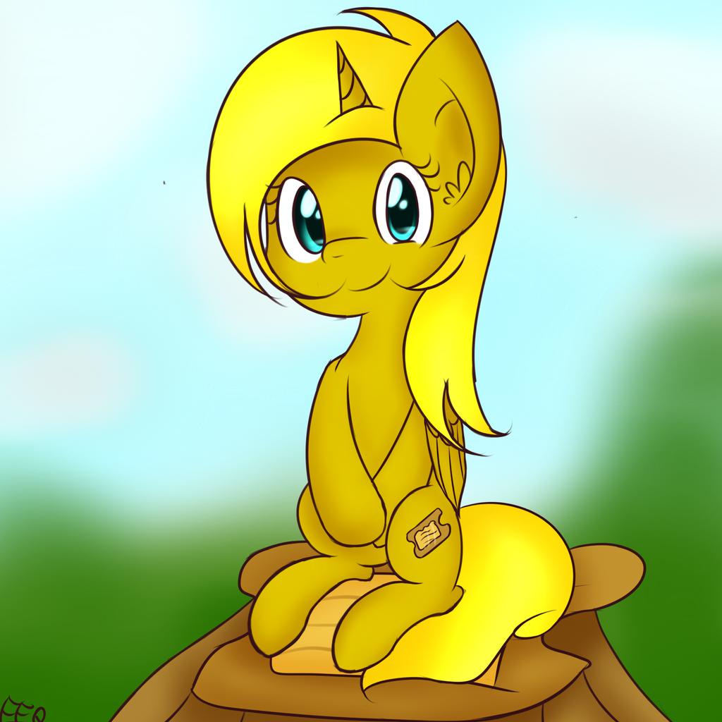 Yellow pone... Ticket by FreeFraQ