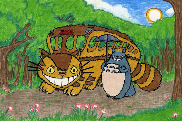 Totoro Birthday Card by supercolossalmech27 on DeviantArt – Totoro Birthday Card