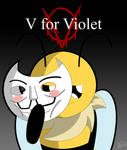 V for Violet.