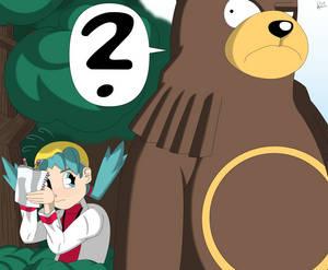 An Em-bear-rassing moment.