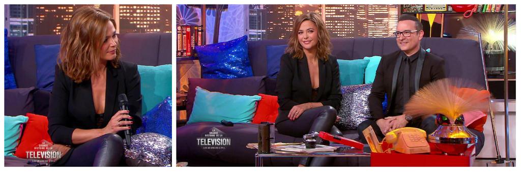 Sandrine Quetier @ La Grande Histoire de la TV by LeBoxonDeLex