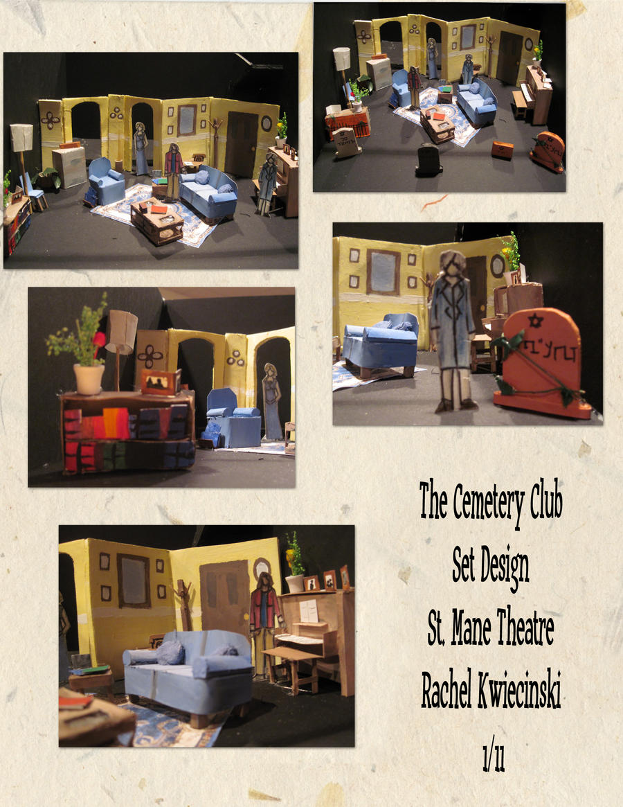 The Cemetery Club - Set Design by Phantomsamurai