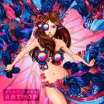 Lady Gaga's ARTPOP alternative album cover art