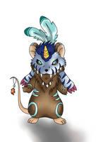 Beast Shaman by huppyleon