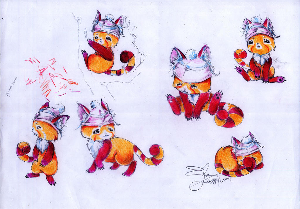 Ban, The Red Panda by huppyleon
