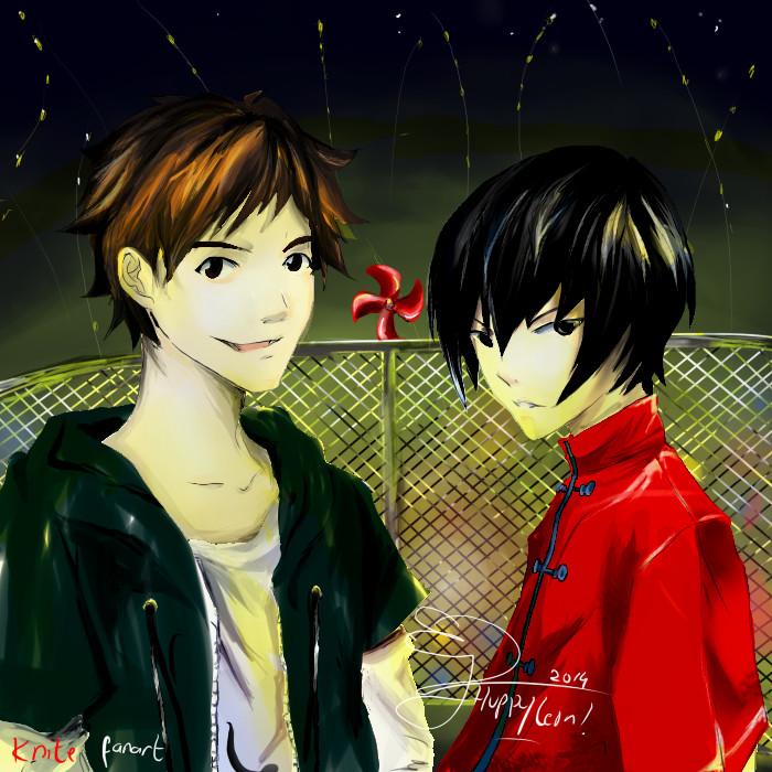 Kai and Sen by huppyleon