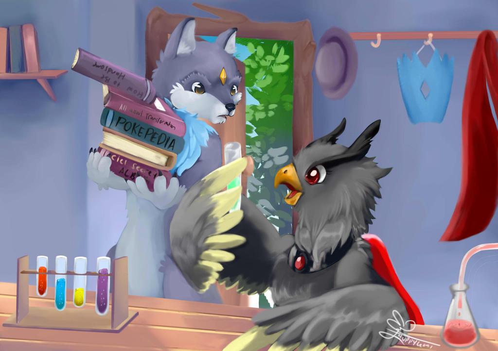 Wolfie Dan Ciel by huppyleon