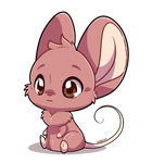 Little Mouse by huppyleon