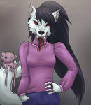Marceline the furry vampire queen by Lushminda
