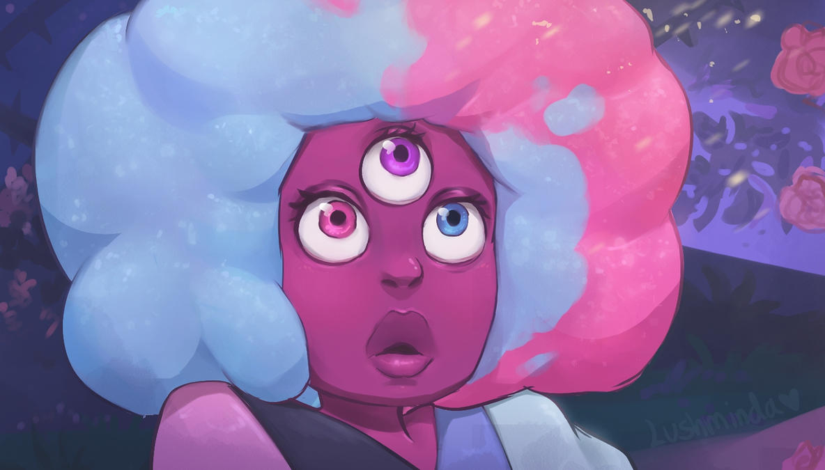 """why am I so sure I would rather be this than everything I was supposed to be?"" Garnet, my new cotton candy waifu <3333 aaaaaaaaaah WATCH THE NEW EPISODE OF STEVEN UNIVERSE HERE www.faceboo..."