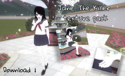 Jane The Killer texture pack! by ArikaDashemi