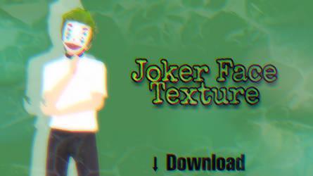 Joker Face Texture by ArikaDashemi