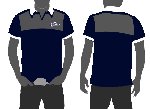 Unison polo shirt design 3 by papiruokita on deviantart for Polo t shirt design images